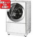 パナソニック ドラム式洗濯乾燥機(10.0kg・左開き)「キューブル」 NA-VG1100L-S (クロームメタル)(標準設置無料)