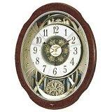 リズム時計工業 電波からくり時計「スモールワールドブルームDX」 4MN499RH23(送料無料)