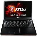 MSI 15.6型ゲーミングノートパソコンPC [Win10 Home/Core i7/HDD 1TB] GL62 (6QC-459JP)(送料無料)
