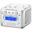 オーム電機 CDクロックラジオ RCD−C008Z(送料無料)