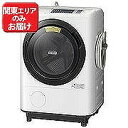 日立 ドラム式洗濯機(11.0kg・右開き)「ヒートリサイクル 風アイロン ビッグドラム」 BD-NV110AR-W (ホワイト)(標準設置無料)