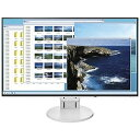 ナナオ/EIZO 23.8型LEDバックライト搭載液晶モニター(ホワイト)FlexScan EV2451-RWT(送料無料)