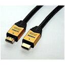ショッピングhdmiケーブル ホーリック 10.0m 3D映像・イーサネット対応 HDMIケーブル(HDMI⇔HDMI) HDM100‐903GD
