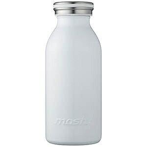 ドウシシャ ステンレスボトル「mosh!ボトル」(350ml) DMMB350WH (ホワイト)