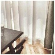 スミノエ レースカーテン Air/エール(100×133cm/ナチュラルホワイト) G1031NW133(100