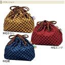 樂天商城 - 巾着袋(市松からし) 33661