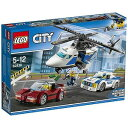 LEGO レゴブロック 60138 シティ ポリスヘリコプターとポリスカー...