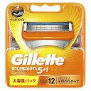 ジレット ジレット フュージョン 5+1 替刃 12個入 GRフユジョン5+1カエバ12B(送料無料)
