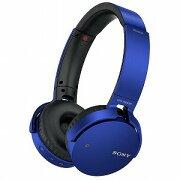 ソニー ブルートゥースヘッドホン(ブルー) MDR−XB650BTLZ(送料無料)