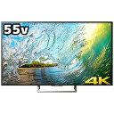 ソニー 55V型 4K対応液晶テレビ KJ−55X8500E(標準設置無料)