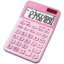 シャープ ミニナイスサイズ電卓(10桁) EL−M335−PX (ピンク系)