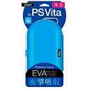 ナカバヤシ PlayStation Vita用薄型セミハードケース ブルー