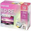 マクセル 録画用BD−REデザインプリントレーベル 2倍速10枚パック BEV25PME.10S