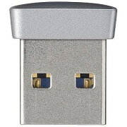 バッファロー USB3.0メモリ 小型・軽量タイプ RUF3−PSシリーズ(64GB・シルバー)  RUF3−PS64G−SV