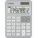 Canon カラフル電卓(12桁) ミニ卓上 KS−125WUC−SL