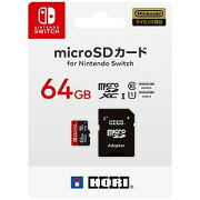 HORI マイクロSDカード 64GB for Switch [Switch] NSW−046