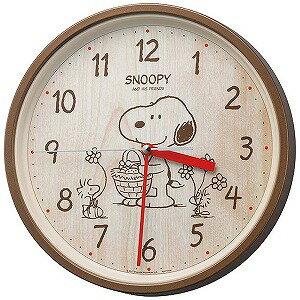 リズム時計工業 掛け時計「スヌーピー」 8MGA...の商品画像