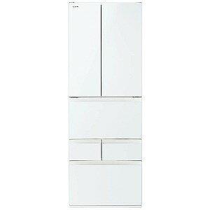 東芝 6ドア冷蔵庫 (462L・フレンチドア) 「べジータFDシリーズ」 GR−M460FD−EW グランホワイト(標準設置無料)