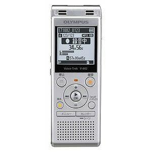 オリンパス ICレコーダー Voice Trek V−862 SLV(シルバー)(送料無料)