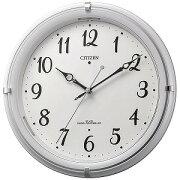 リズム時計工業 電波掛け時計 4MYA37−003(送料無料)