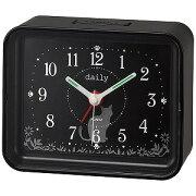 リズム時計工業 目覚まし時計 「ちょこっとけい」 4SE555DN02