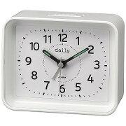 リズム時計工業 目覚まし時計 「ちょこっとけい」 4SE555DN03