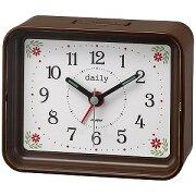 リズム時計工業 目覚まし時計 「ちょこっとけい」 4SE555DN06