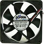 中空ベアリング(改良型流体軸受け)採用 リブ無し120mmファン RDL1225S17SP