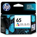 HP 純正 HP 65 インクカートリッジ(カラー) N9K01AA