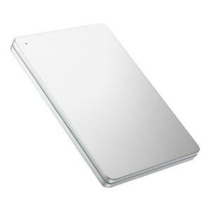 I・O・DATA 外付けHDD シルバー [ポータブル型 /1TB] HDPX−UTS1S Silver×Green