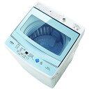 AQUA 全自動洗濯機 (洗濯5.0kg) AQW−GS50F−W ホワイト(標準設置無料)