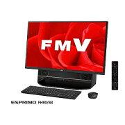 富士通 27型デスクトップPC ESPRIMO FH90/B3 FMVF90B3B オーシャンブラック(送料無料)