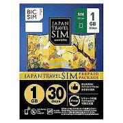 IIJ ナノSIM 「BIC SIMジャパントラベルパッケージ 1GB 」 IMB230
