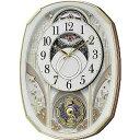 リズム時計工業 電波からくり時計「スモールワールドノエルS」...