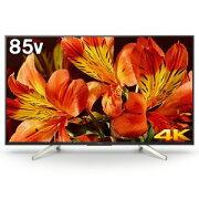 ソニー 85V型4K対応液晶テレビ「BRAVIA(ブラビア)」 KJ−85X8500F(標準設置無料)