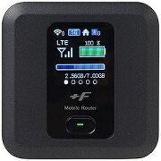 富士ソフト 「SIMフリー microSIMx1」 モバイルルータ LTE/Wi−Fi FS030WMB1 ブラック(送料無料)