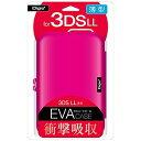 ナカバヤシ ニンテンドー3DS LL用 セミハードケース ピンク「3DS LL」 SZC3DSLL01PニンテンドーNE