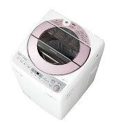 シャープ 全自動洗濯機 (洗濯7.0kg) ES−GV7C−P ピンク(標準設置無料)