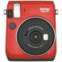 富士フィルム インスタントカメラ チェキ instax mini 70N レッド INSMINI70NRED