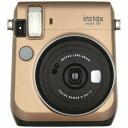 富士フィルム インスタントカメラ チェキ instax mini 70N ゴールド INSMINI70NGOLD(送料無料)