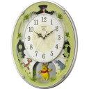 リズム時計工業 電波からくり時計 「くまのプーさんM523」...