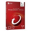 トレンドマイクロ ウイルスバスタークラウド1年版PKG TI...