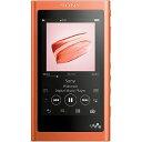 ソニー SONY ハイレゾ対応ウォークマン(16GB)「WAシリーズ」 NW−A55 (RM)トワイライトレッド[イヤホンは付属していません]NW−A55 RM