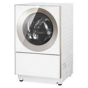 パナソニック ドラム式洗濯乾燥機 (洗濯10.0kg/乾燥5.0kg/左開き)「Cuble/キューブル」 NA−VG1300L−P ピンクゴールド(標準設置無料)