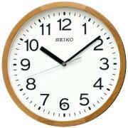 セイコー 電波掛け時計 KX249B 茶