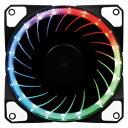 AINEX ケースファン[120mm / 1800RPM] RGB LEDファン PWM WL−120−R