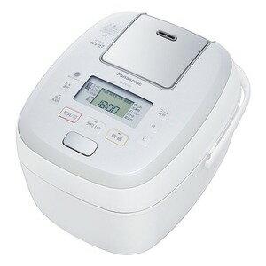 パナソニック 炊飯器 可変圧力おどり炊き ホワイト [5.5合 /圧力IH] SR−PB108