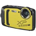 富士フイルム 防水コンパクトデジタルカメラ FinePix(ファインピックス) FFX-XP140-Y イエロー