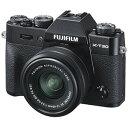 富士フイルム ミラーレス一眼カメラ X-T30【レンズキット(XC15-45)】 FX-T30LK-1545-B ブラック