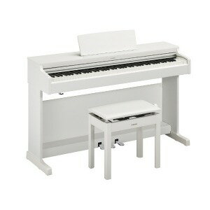 YAMAHA 電子ピアノ ARIUS YDP−164WH ホワイトウッド調仕上げ [88鍵盤] (標準設置無料)